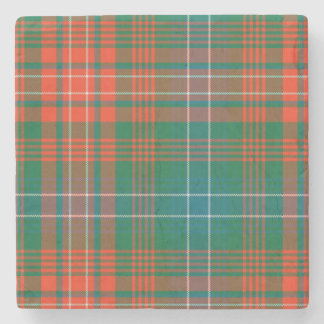 Clan Wilson Tartan Plaid Stone Coaster