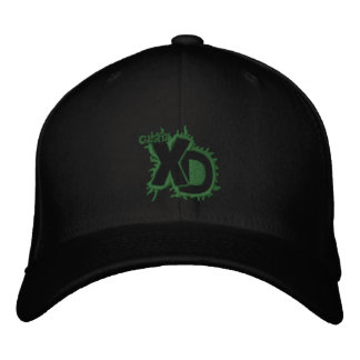 Clan XD Logo Scene Fixed Embroidered Hat