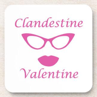 Clandestine Valentine 03P Drink Coasters