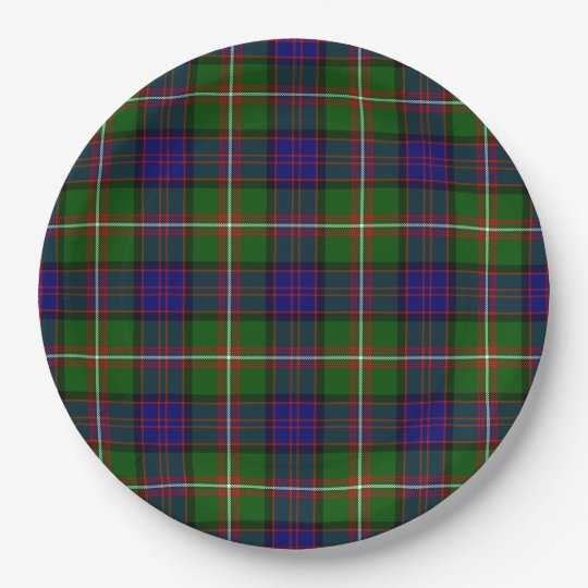 Clanranald 9 Inch Paper Plate