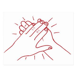Clap Your Hands Postcard