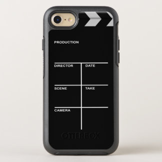 Clapboard cinema for action OtterBox symmetry iPhone 8/7 case
