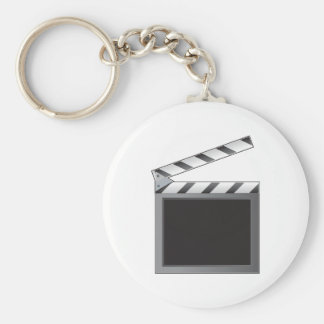Clapboard Key Ring