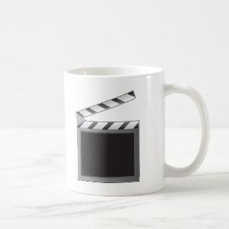 Clapboard Basic White Mug