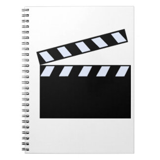 Clapper Board Spiral Notebook