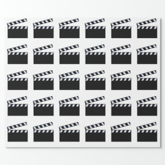 Clapper Board Wrapping Paper