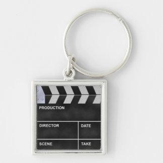 clapperboard cinema key ring