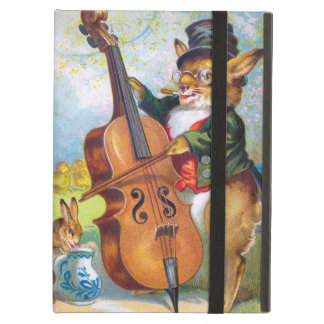 Clapsaddle: Bunny with Cello Cover For iPad Air