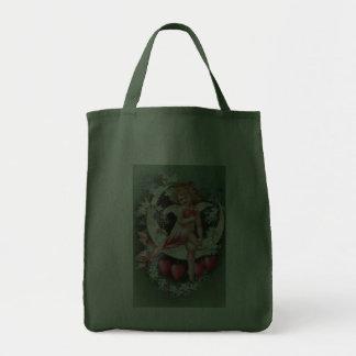 Clapsaddle: Cherub on a Sickle Moon 1 Canvas Bag