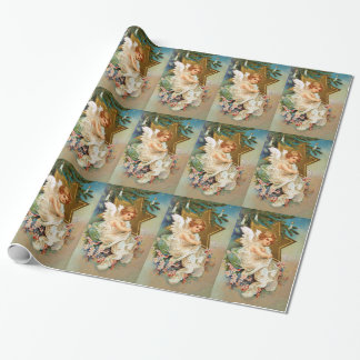 Clapsaddle: Christmas Angel Wrapping Paper