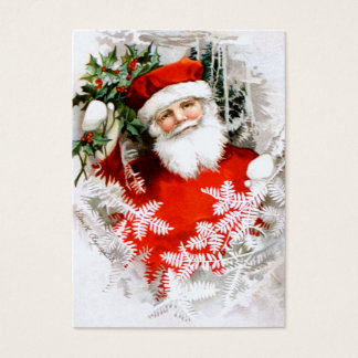 Clapsaddle: Santa Claus with Holly