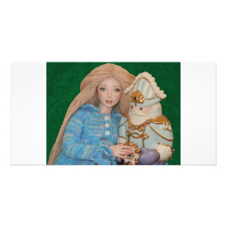 Clara and the Nutcracker Photo Greeting Card