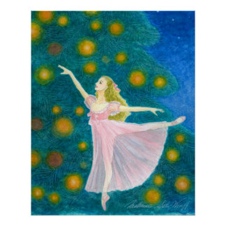 Clara Ballet Art Print