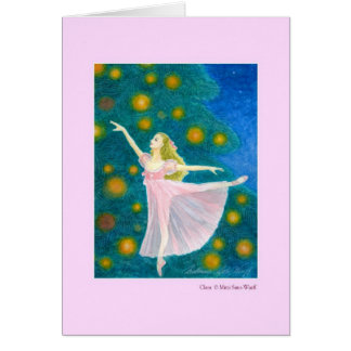 Clara Greeting Card (customizable)