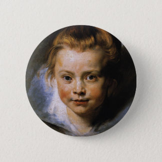 Clara Serena Rubens 6 Cm Round Badge