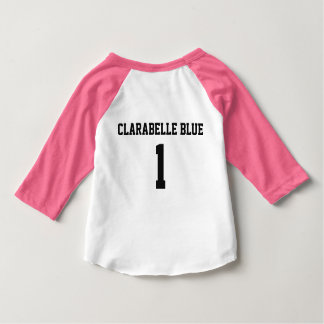 ClaraBelle Blue Baseball Tee - BABY