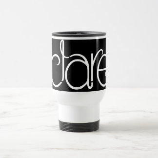 Clare white Travel Mug