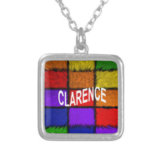 CLARENCE SILVER PLATED NECKLACE