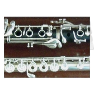 Clarinet and Flute Duo Card