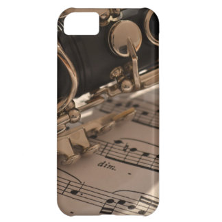 Clarinet and Music Sheets iPhone 5C Case