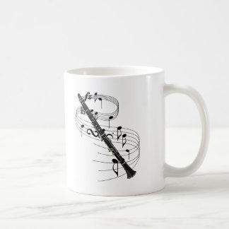 Clarinet Basic White Mug
