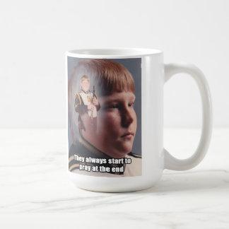 Clarinet Boy Coffee Mug