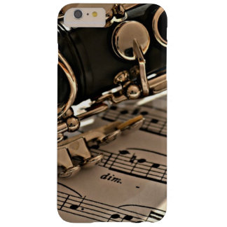 Clarinet Close up Barely There iPhone 6 Plus Case