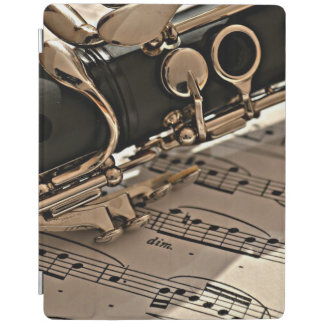 Clarinet Close up iPad Cover