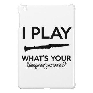 clarinet designs iPad mini cover