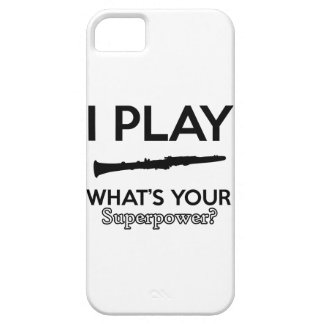 clarinet designs iPhone 5 case