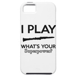 clarinet designs iPhone 5 cover