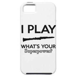 clarinet designs tough iPhone 5 case