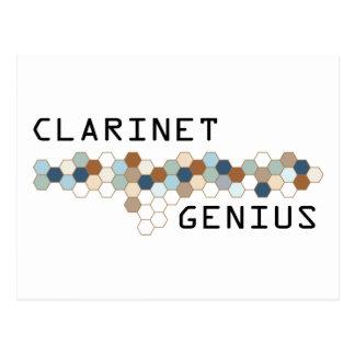 Clarinet Genius Postcard