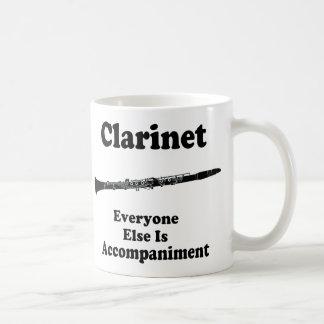 Clarinet Gift Basic White Mug
