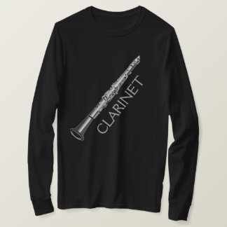 Clarinet Instrument Men's Long Sleeve T-Shirt