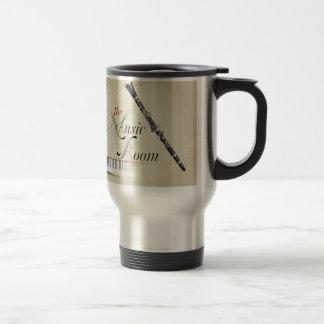 Clarinet Music Room Stainless Steel Travel Mug