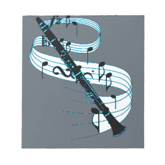 Clarinet Notepads
