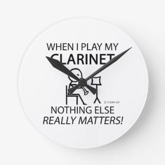 Clarinet Nothing Else Matters Clock