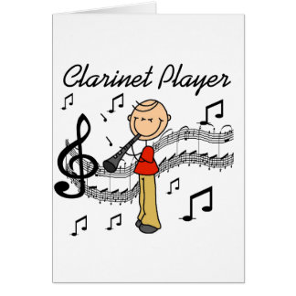 Clarinet Player Card