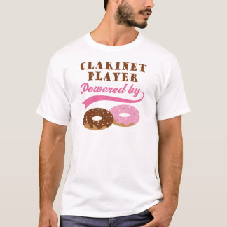 Clarinet Player Funny Gift T-Shirt
