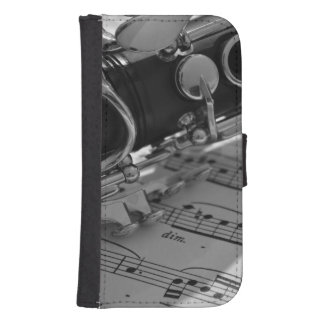Clarinet Samsung S4 Wallet Case