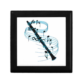 Clarinet Small Square Gift Box