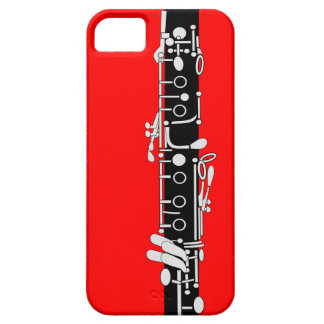 Clarinet With Red iPhone 5 Case