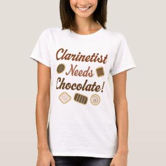 Clarinetist Chocolate T-Shirt