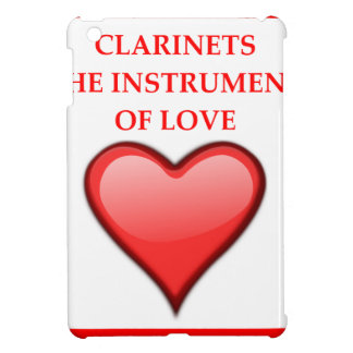 CLARINETS COVER FOR THE iPad MINI