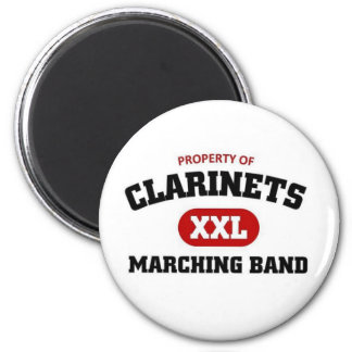 Clarinets marching band magnets