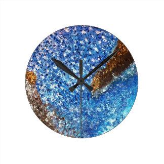 """Clarity"" Round Clock"