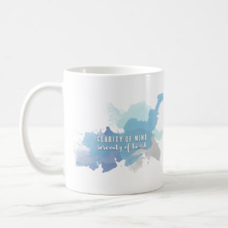 Clarity & Serenity | A Mug for Heart Soul Mind