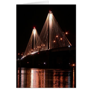 Clark Bridge, Alton, Illinois Card