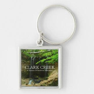 Clark Creek Waterfalls - Pond, Woodville, MS Keychains
